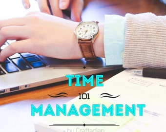 Time Management - Time Mapping - Tip Saving Tips - Weekly Planner