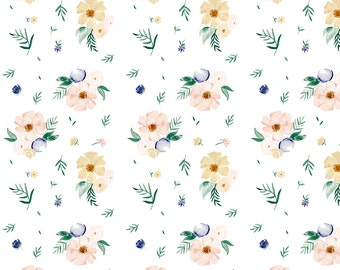 Gift Wrap Sheets - Dainty Floral  - Set of 3 Sheets
