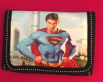 Cool Superman  Childrens Wallet/Coin Purse  Boys Gift New!