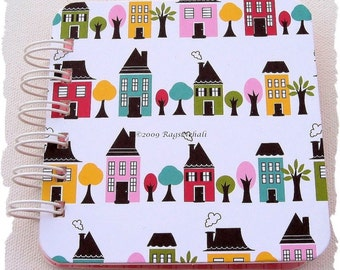 House Trees - Post It Note Holder Planner Organizer