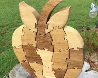 Teachers Apple | Wooden Puzzle | Wooden Toys | Christmas Gifts | Gifts for | Kids Gift | Wood Toys | Wood Puzzle | Jigsaw Puzzle