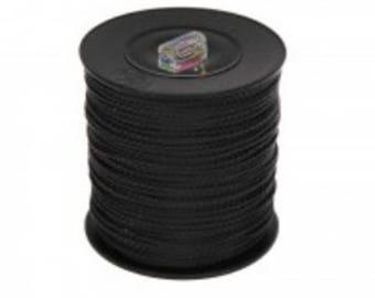 Thread polyester 1.5 mm - black