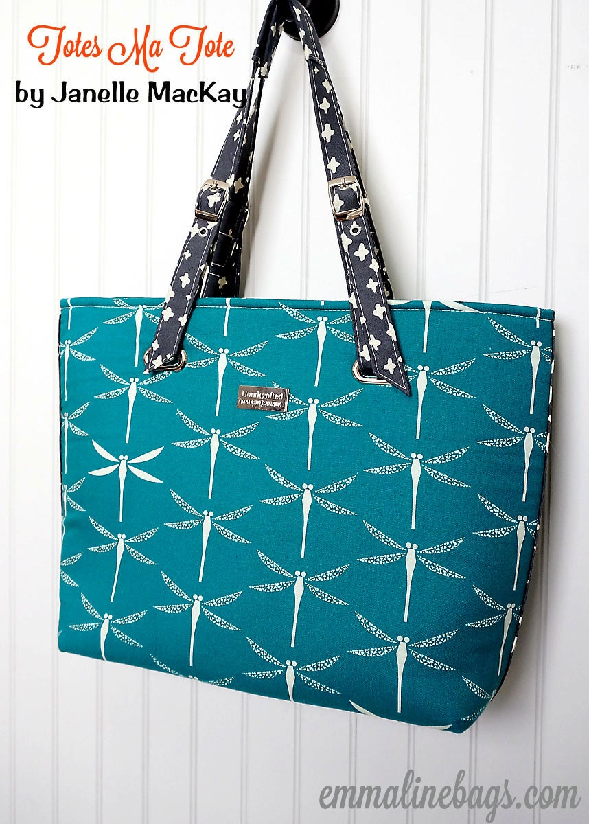 The totes ma tote bag pdf sewing pattern large purse tote zoom jeuxipadfo Gallery