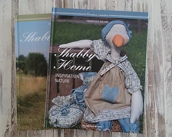Package of two books Shabby Home in French