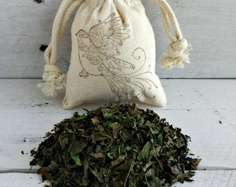Chocolate Mint Herb Sachet | Organic Chocolate Mint | Mint Aromatherapy | BULK Mint Wedding Favor Sachet Bags | Wedding Favors In BULK