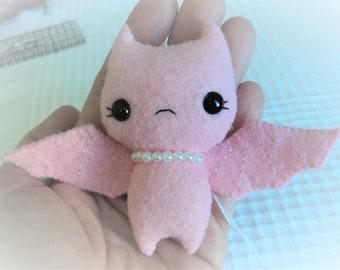 Felt Bat Ornament - Gingermelon - Kawaii