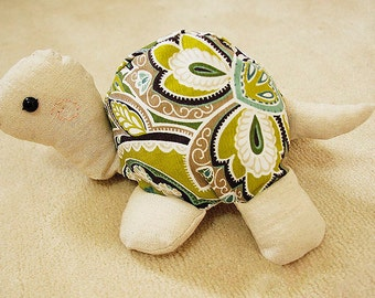 Baby Turtle Toy PDF Pattern Download Baby Toys Cute Turtle Kits Pattern Tutorial Sewing Pattern, Animal Plush Stuffed, sewing instruction