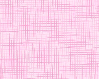 Pink Woven Flannel Fabric - Quilting Treasures