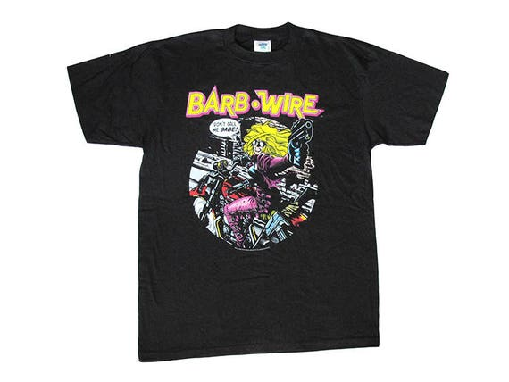 Vintage Barb Wire Comic Book T-Shirt