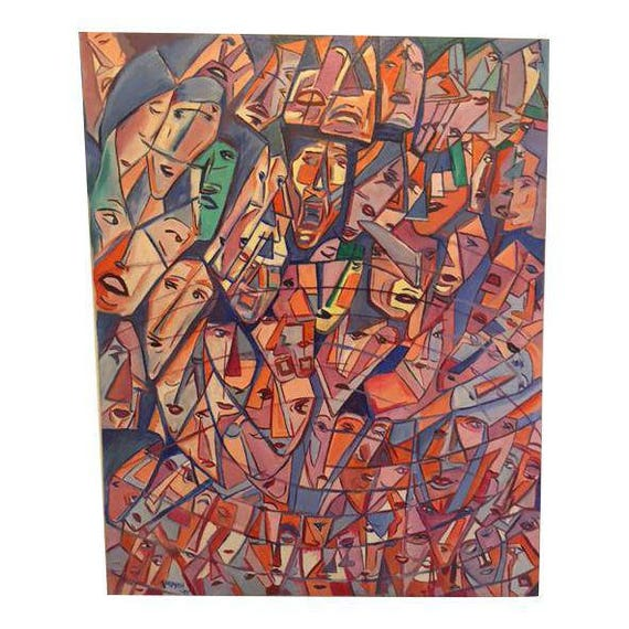 Faces of New Yorkers Original Signed