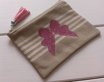 Mattress and Angel Wings pattern canvas cloth case