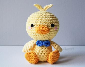 Duckling Amigurimi/Crocheted Toy