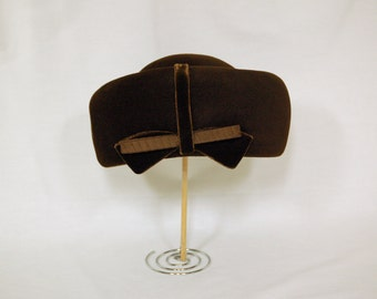 Vintage 1960s Turban-Style Hat / Ken Blair Exclusive / Size 22-1/2