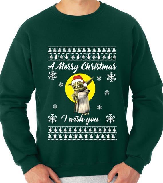 merry christmas from star fleet crew neck sweater ugly sweater christmas sweater star trek christmas gift