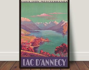 Annecy print Etsy