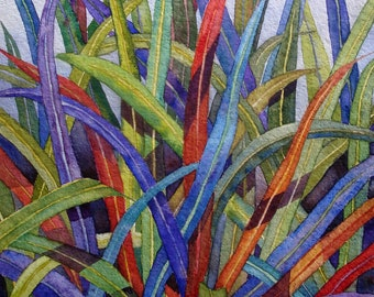 DIANELLA - Giclee Print of Original Watercolor Painting