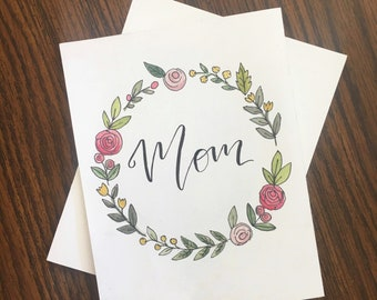 Mother's day card Mother's day Mother's day gift Mom's day Mom's day card Blank card Mom gift Gift for mom