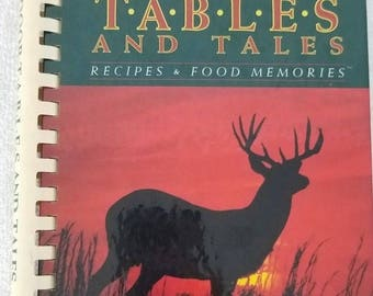 Vintage Outdoor Tables and Tales Cookbook Hunting Game Venison Robert Neill 1992