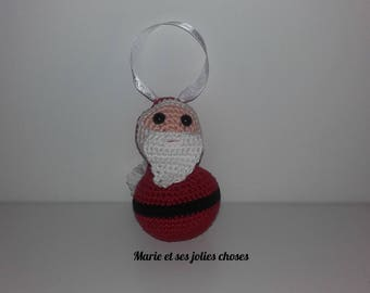 Christmas ornament - Santa to hang your Christmas tree