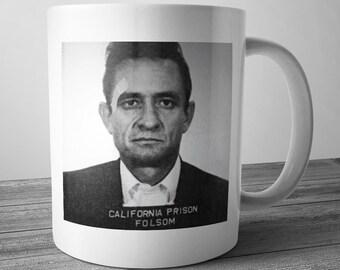 Johnny Cash Mugshot Mug