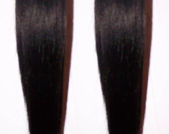 Black Hair Pigtails