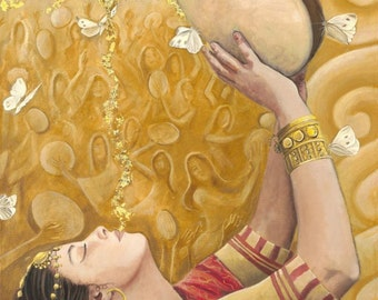 """Miriam The Prophetess - 8"""" x 16"""" Signed Limited Edition Giclee on Fine Art Paper"""