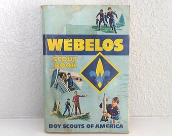 Boy Scouts of America Webelos Scout Book From 1969