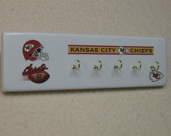 Kansas City Chiefs key rack