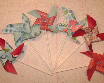 Sea Breeze Pinwheels  (12)