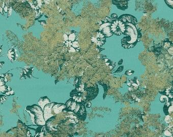 by the yard - Rubelli Goldfinger Tiffany silk brocade fabric