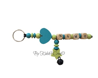 Keychain pacifier clip personalized name baby pacifier