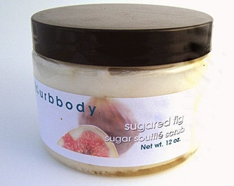 Sugared Fig Creamy Sugar Scrub - SALE