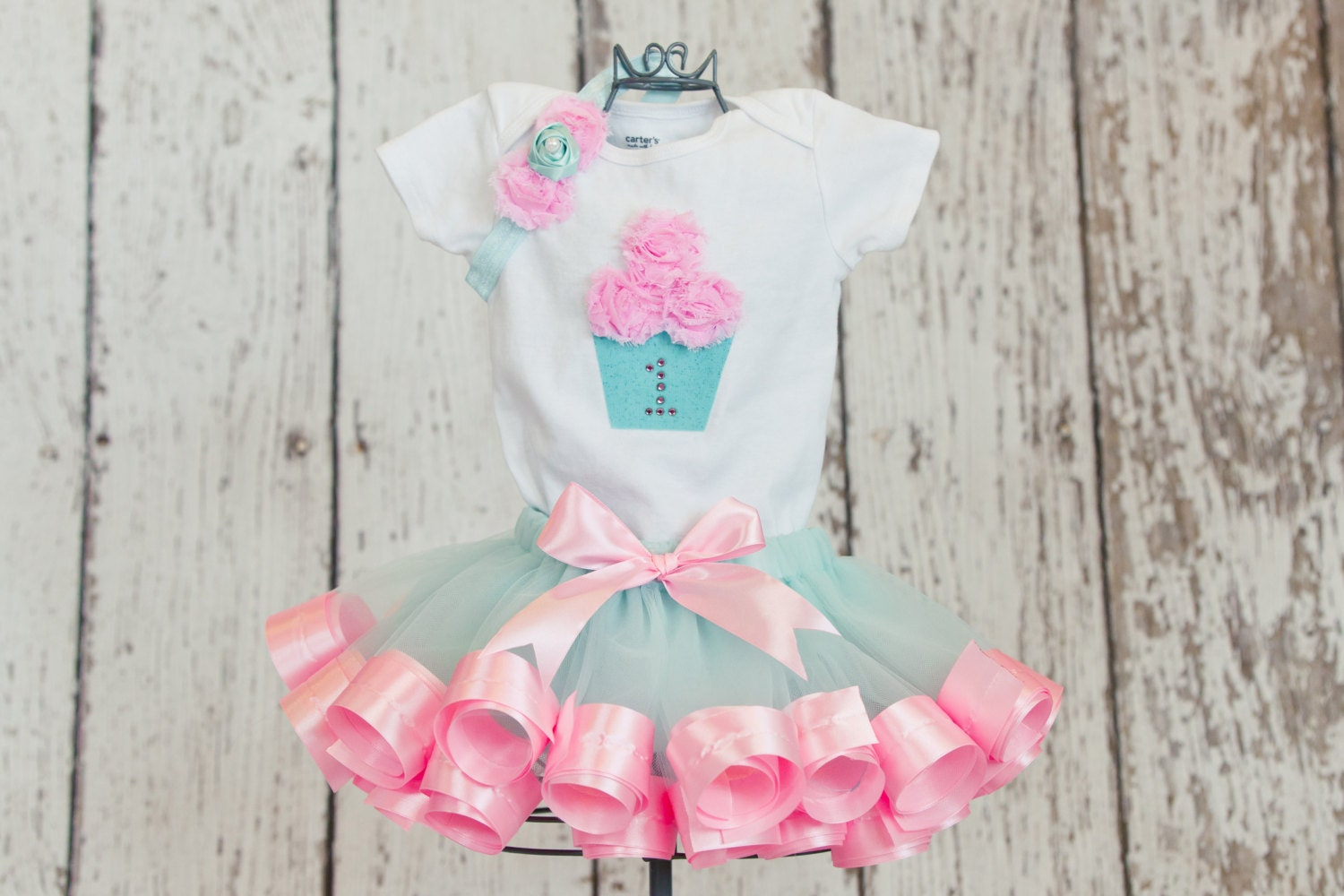 Baby Girl S First Birthday Outfit Onesie Or T Shirt With