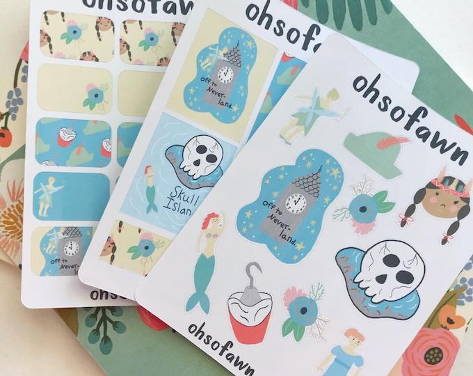 Peter Pan Sticker Kit