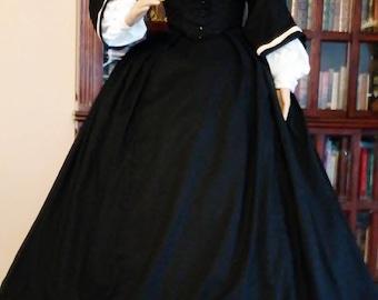Civil War Era Skirt and Bodice