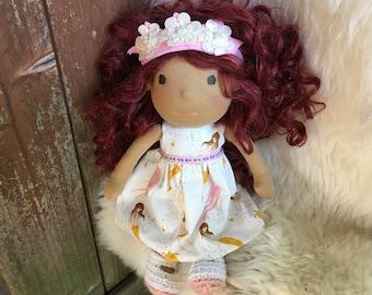 Ruby, 12 inch Waldorf Doll