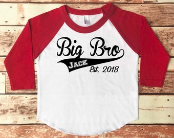 Big Brother Shirt, Big Brother Announcement Shirt, Big Brother Shirt Announcement, Baby Announcement Shirt, Pregnancy Announcement Shirt