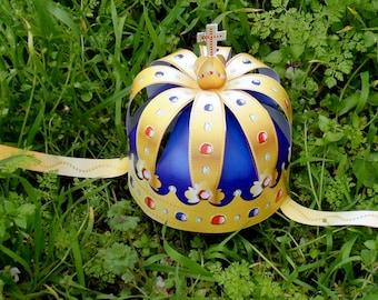 Paper crown PRINTABLE. Royal crown. Queen crown. King crown. Crown royal Masquerade crown. Party crown. Birthday crown. Birthday crown adult