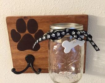 Dog treat mason jar