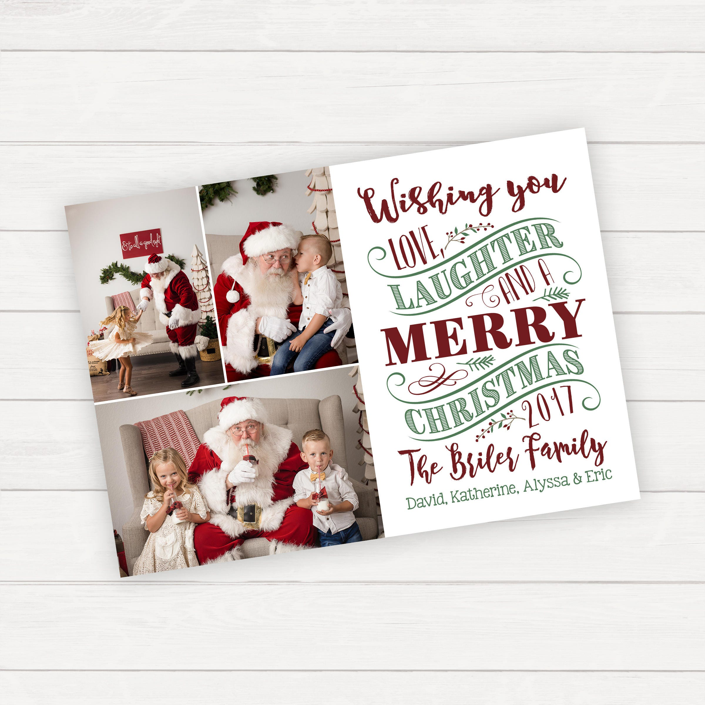 Christmas Photo Card Christmas Cards Family Christmas Card