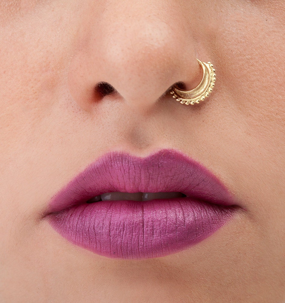 Indian Nose Ring Gold Nose Ring Nose Ring Nose Hoop Indian