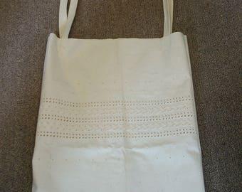 Eyelet Fabric market bag