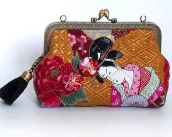 7'' Clutch Bag - Geisha Coterie