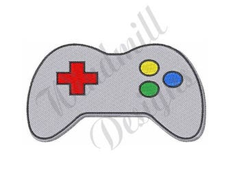 Game Controller - Machine Embroidery Design