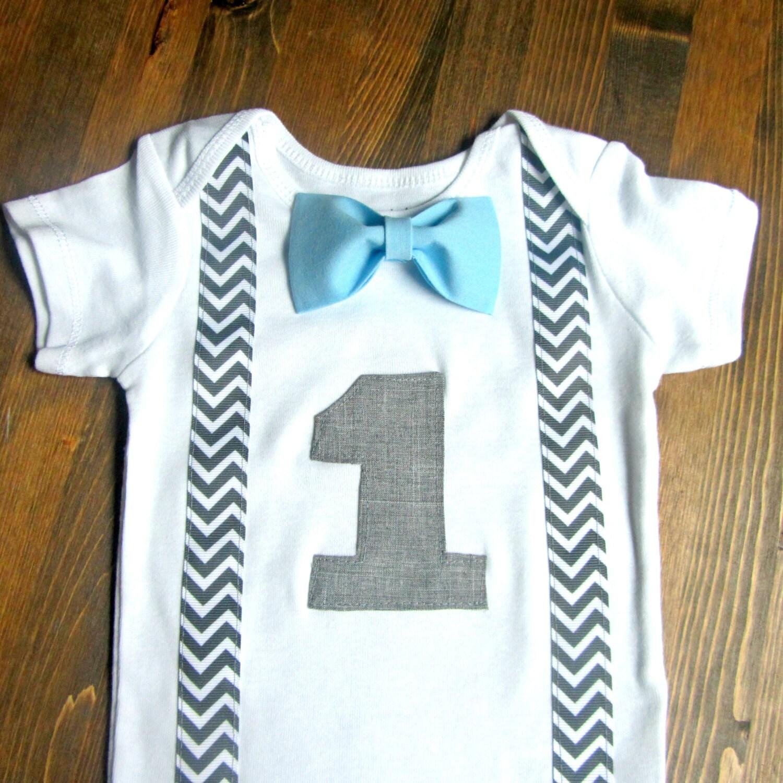 Jungen ersten Geburtstag Outfit Baby-Kleidung ersten