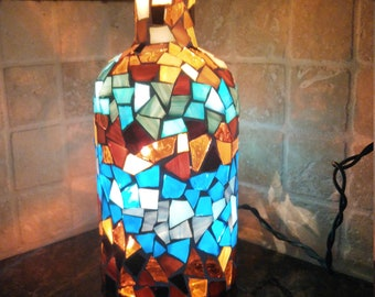 Stained Glass Accent Lamp