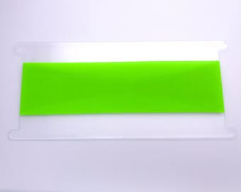 Less Wide Neon Green Headband - Hi Vis Headband- Workout Headband