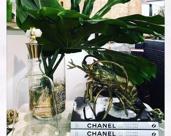 Brass Lobster Sculpture