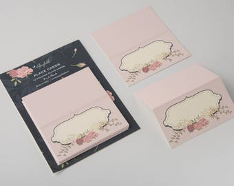 French Floral - Placecard