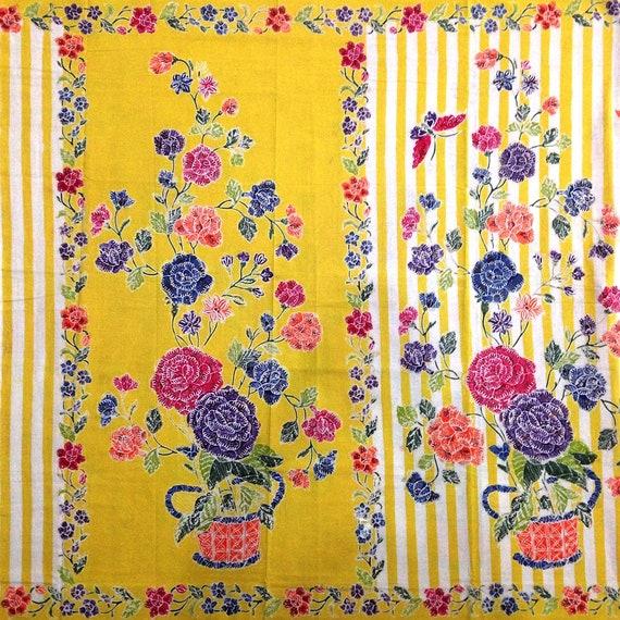 Javanese Batik #09 Indonesian Batik Batik Fabric Batik Wall Hanging ...